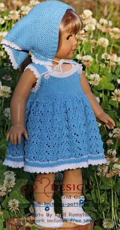 Målfrid Gausel's dolls dress patterns