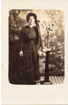 Vintage Photo Salvation Army Woman.