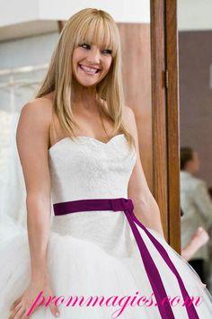 Kate Hudson Wedding Dress Bridal Gown in Movie Bride Wars TCD0209