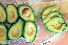 Vegan on a Budget: Freezing Avocados and OtherStuff - Well Vegan // What freezes well & how to keep your freezer cold