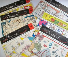 Vintage Vogart Embroidery Transfers