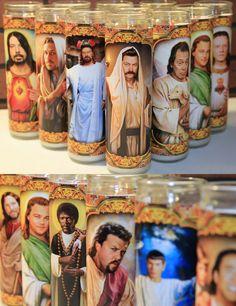 imagen religiosa, cultur religi, funni, candles, epic stuff, religi candl, pop cultur, awesom, gift idea