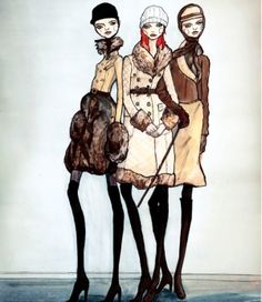 Danny Roberts Fashion Illustrations by janna