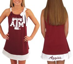 Aggie Game Day Dress