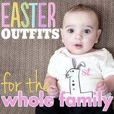 Daily Mom » Easter Outfits for the Whole Family
