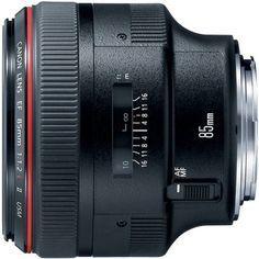 Canon EF 85mm f1.2L II USM Lens for Canon DSLR Cameras $2049.00 usm len, dream, dslr cameras, canon cameras, canon ef, ii usm, ef 85mm, 85mm f12l, photographi