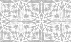 Square Faux Bois  Grey on White