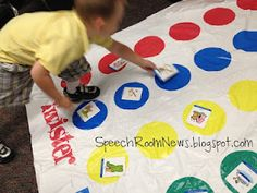 Could use Twister as a counseling game! love the idea of putting questions on the circles! You could even write it on them with a marker...