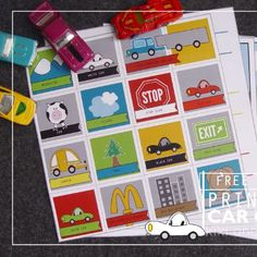 6 Free Printable Travel Games - plus links to other travel ideas