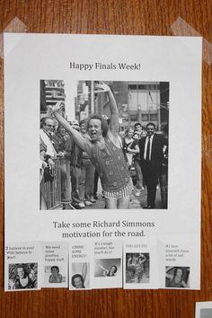 Richard Simmons Finals Week. Totally Happening.
