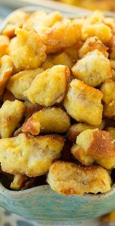 Honey Mustard and Onion Pretzels