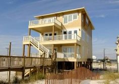 Gulf Shores, AL: Endless Summer will make you wish the summer never ended let alone your vacation! This newer gulf front seven bedroom, eight bath home is great for ex...