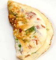 Biggest looser egg white veggie omelet