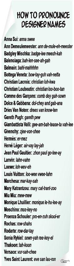 how to pronounce, pronounc design