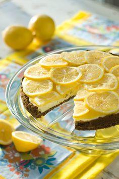 Lemon Snap Icebox Pie