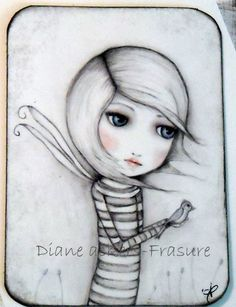 ACEO art card by DianeAckers on Etsy, $5.00