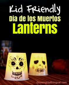 Dia de los Muertos Day of the Dead lanterns craft DIY