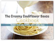 Creamy Cauliflower Sauce - Pinch of Yum