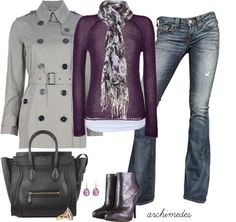 Fall Fashion | Autumn in Lilac | Fashionista Trends