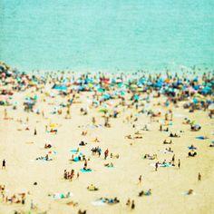 Coney Island Beach- Minagraphy