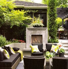 live space, home ideas living, outdoor living spaces, backyard living, outdoor live, gas fireplaces, outdoor living rooms, outdoor fireplaces, outdoor spaces