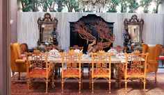 a Kelly Wearstler dining room - killed it again!