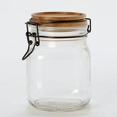 Acacia Wood Mason Jar