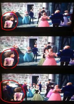 Rapunzel was in Frozen!!! So cool!