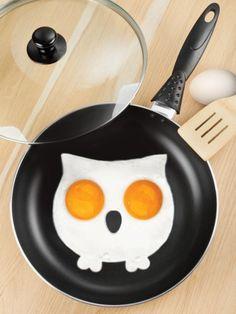 """Funny Side Up Owl"""