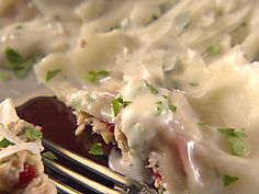 Turkey and Cranberry Ravioli - there will be no leftovers this year.