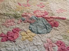 My husband's grandmother made this quilt at least 65 years ago it is all hand quilted,hand appliqués and hand embroidered and in perfect condition.  anyone know of a quilt museum I could donate it to?