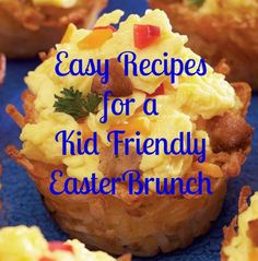 Because a good hostess is mindful of her target market ~ especially on Easter =) Easy Recipes for a Kid Friendly Easter Brunch via @Molly Hayden Gold