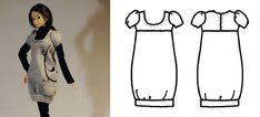 dress*up knit bubble dress