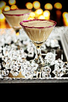 A happy hour favorite - Godiva Chocolate Mudslide Martini TGIF!