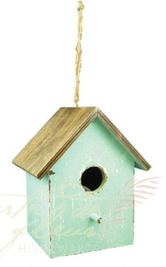 Home and Garden Decorative - Hanging Wooden Bird House