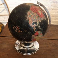old school globe trotting...