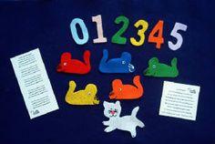 5 Little Mice Felt Story