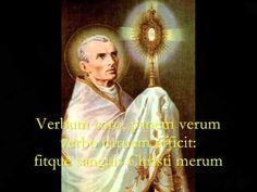 ▶ Pange Lingua Gloriosi - Catholic Hymns, Gregorian Chant - YouTube