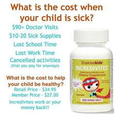 One of the best investments for our family in prevention and health and only costs less than .45 cents a day!! #childrensvitamins #shaklee #healthy #vitamins www.moyragorski.myshaklee.com