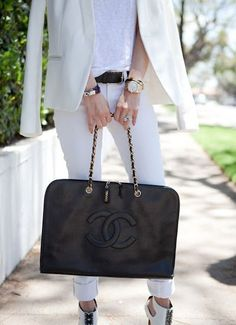 CHANEL TOTE Tip - Click the pic for bargain buys.