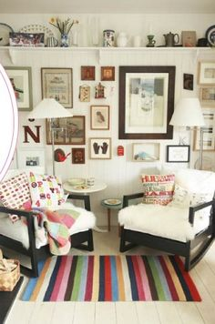 #design #interior #home #white #eclectic #bohemian #storage #display #sittingroom #inspiration #photography