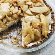Inside-Out Apple Pie à la Mode