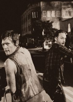 The Walking Dead ~ Daryl and Rick