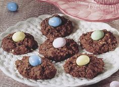 HERSHEY'S Kitchens | Cocoa-Coconut Oatmeal Nests Recipe