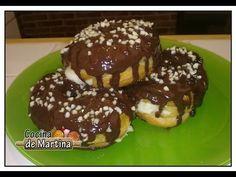 Cronuts rellenos de crema | Recetas de cocina | Cocina de Martina