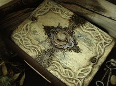 Nimloth of Eressea - Blank Journal, Fantasy inspired Mixed Media