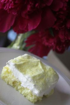 Weight watchers lemon cake - 7up, lemon cake mix and cool whip...remember sweets are treats try to limit sweets to healthy treats