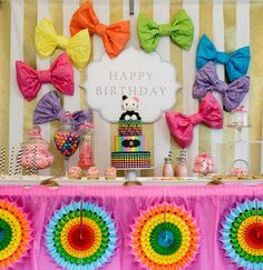 Hello Kitty - 6 year Old Birthday Party | Bickiboo Party Supplies
