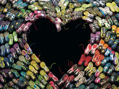 Boston magazine's heart-shaped shoes honor city, victims. #BestCoverEver
