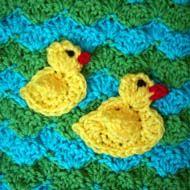 Free Duck Crochet Pattern